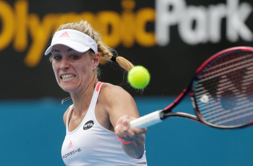 """""""Ich erwarte aber nicht von ihr, dass sie für lange Zeit die Nummer eins bleibt"""", sagte der frühere Tennis-Star John McEnroe über Angelique Kerber. Foto: pixathlon"""
