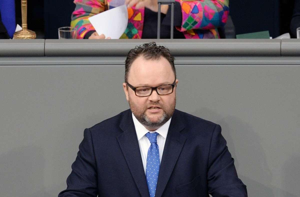 Christian Jung im Bundestag (Archivbild) Foto: Alle Rechte beim Dt. Bundestag/Achim Melde