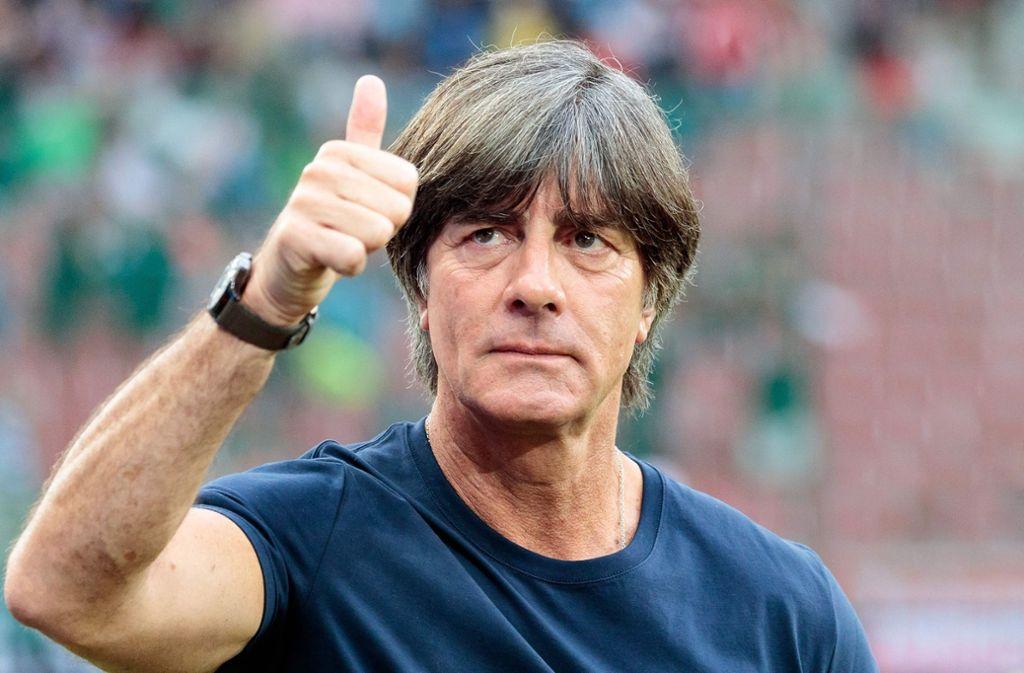 Bundestrainer Joachim Löw hat seine 23 Spieler für die WM in Russland definiert und den Kader bei der FIFA gemeldet. Foto: APA