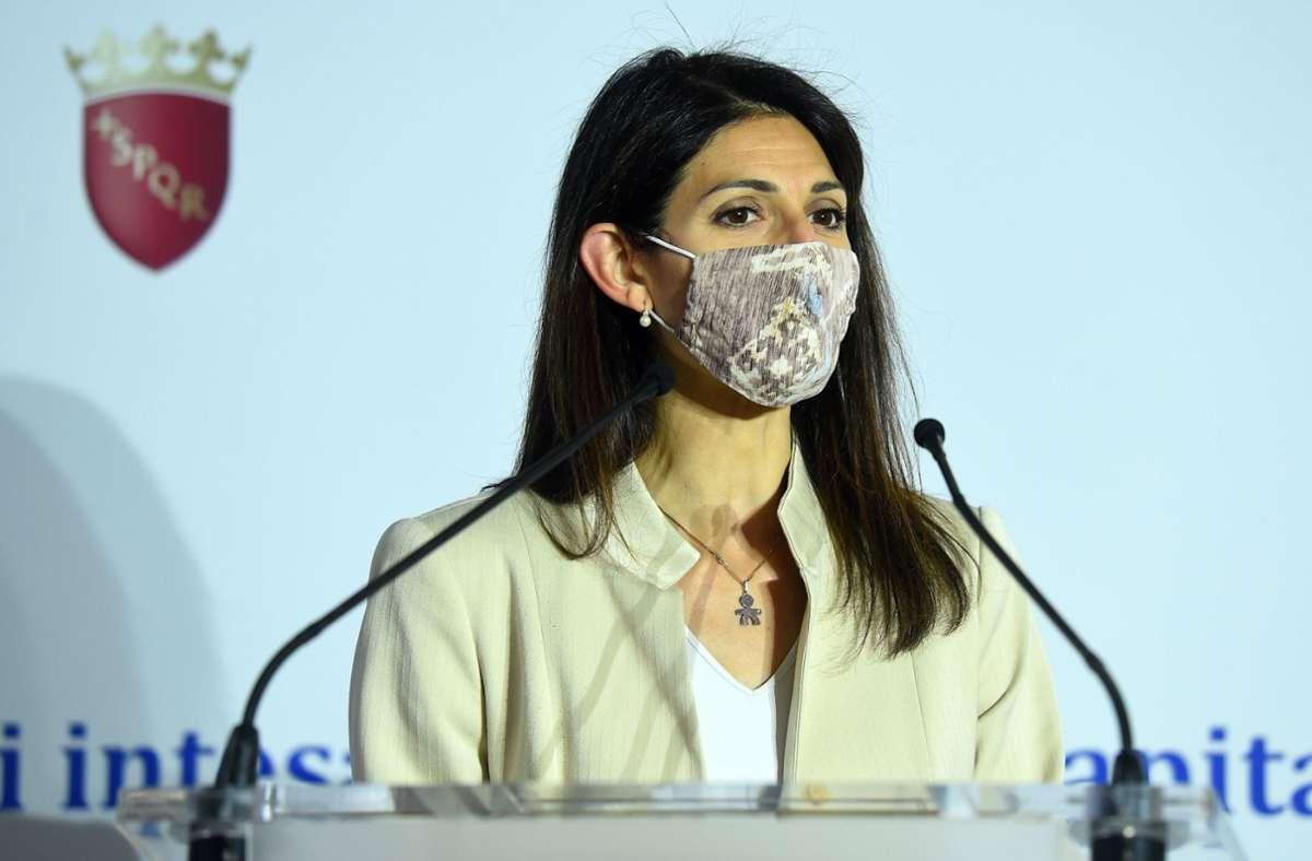 Bürgermeisterin Virginia Raggi entschuldigte sich für den Fauxpas. (Archivbild) Foto: imago images/ZUMA Wire/Massimo Insabato via www.imago-images.de