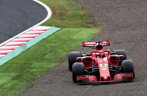 Hamilton holt Pole Position in Suzuka, Vettel nur Neunter