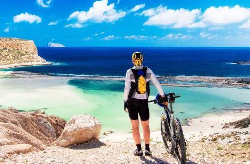 Die Lagune von Balos in Kaliviani auf Kreta - im Frühjahr hat mancher das Glück sie derart menschenleer zu erleben.