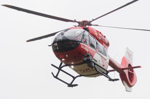 16-Jährige stürzt mit Leichtkraftrad – Rettungshubschrauber im Einsatz