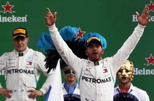 Hamilton siegt in Monza, Vettel verpasst das Treppchen