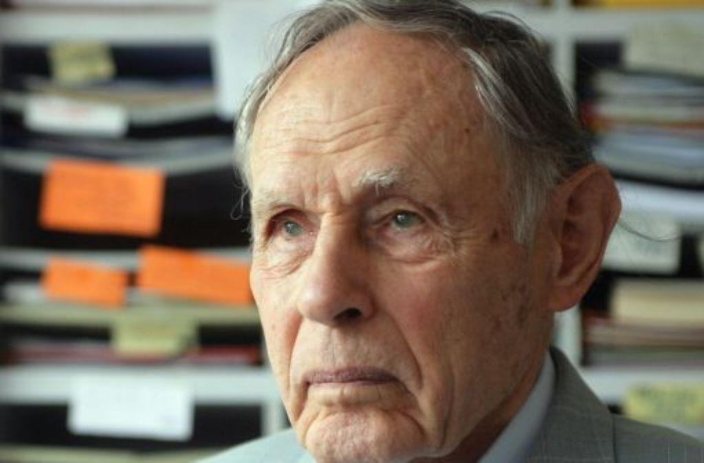 Die Erlebnisse im Krieg haben Reinhard Tauschs Leben geprägt. Foto: Zweygarth