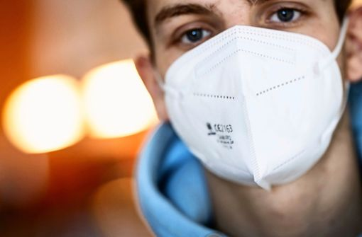 Hier gibt es noch die besser schützenden Masken zu kaufen
