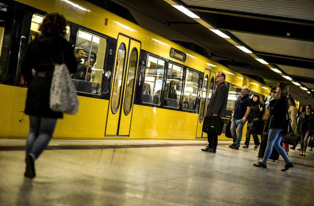 Stadtbahn in Stuttgart: Die SPD fordert ein  neues Tarifsystem. Foto: Lichtgut/Leif Piechowski