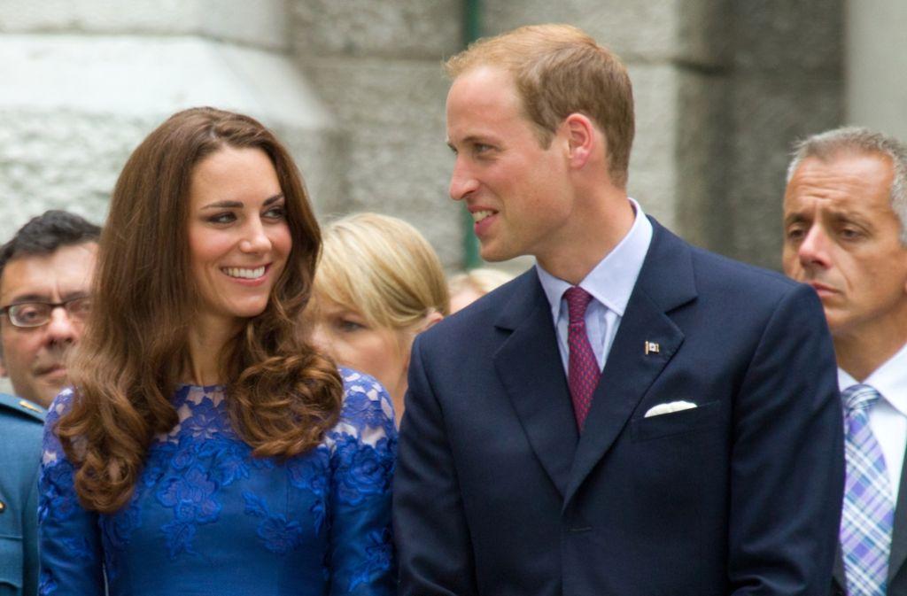 Prinz William und seine Ehefrau Kate zählen zu den beliebtesten Repräsentanten des europäischen Adels. Foto: dpa