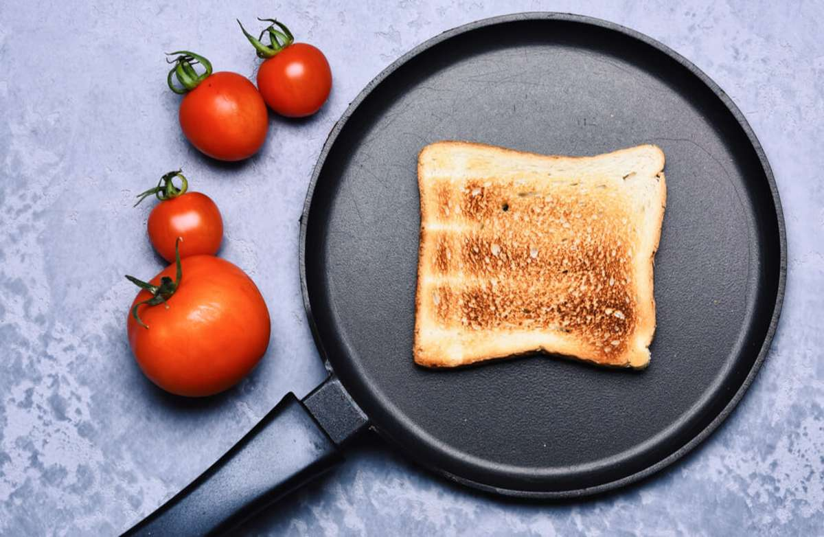 Toast aus der Pfanne. Foto: Just dance / shutterstock.com