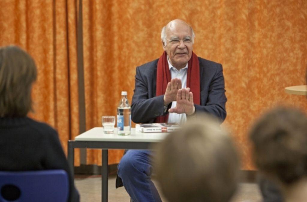 Der Orthopäde, Fluchthelfer und Buchautor Burkhart Veigel. Foto: Steffen Honzera