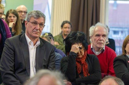 """Linke-Parteichef Bernd Riexinger ist enttäuscht: """"Das ist bitter für uns."""" Foto: Lichtgut"""