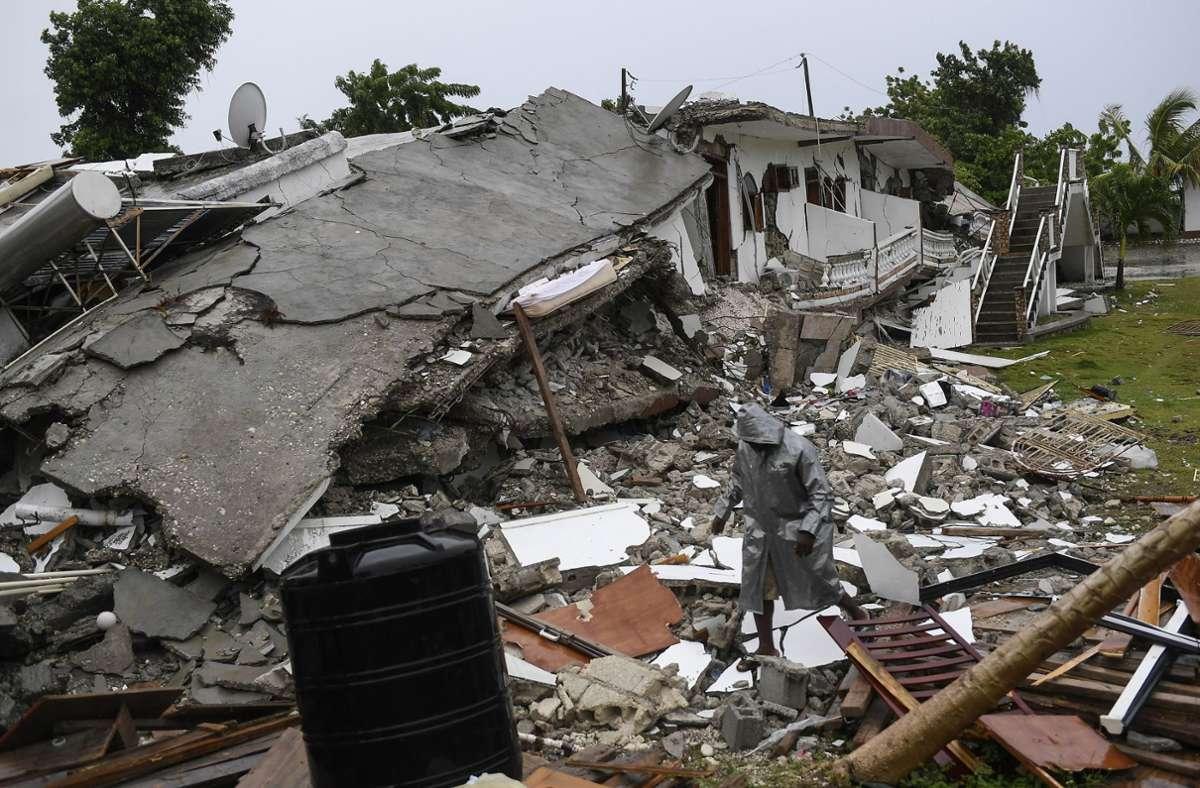 Bilder der Verwüstung in Haiti Foto: dpa/Matias Delacroix