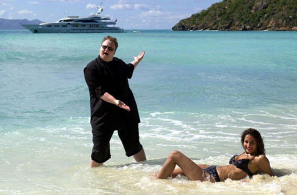 Schmitz soll 2010 mit Megaupload 42 Millionen Dollar kassiert haben. Foto: AP