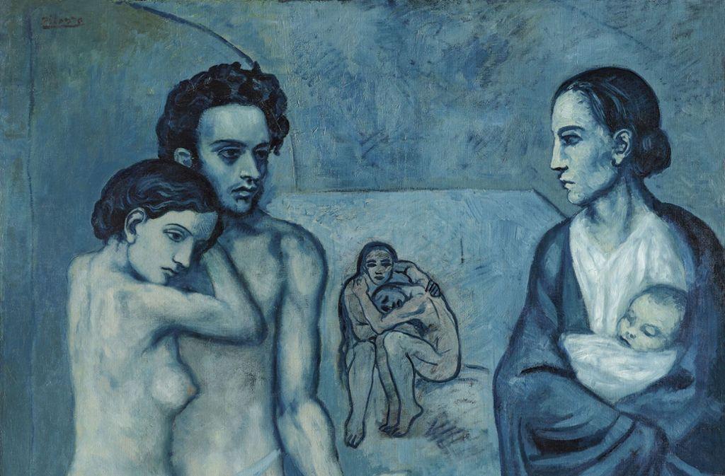 "Picassos ""La vie"" von 1903 Foto: Cleveland Museum of Art"