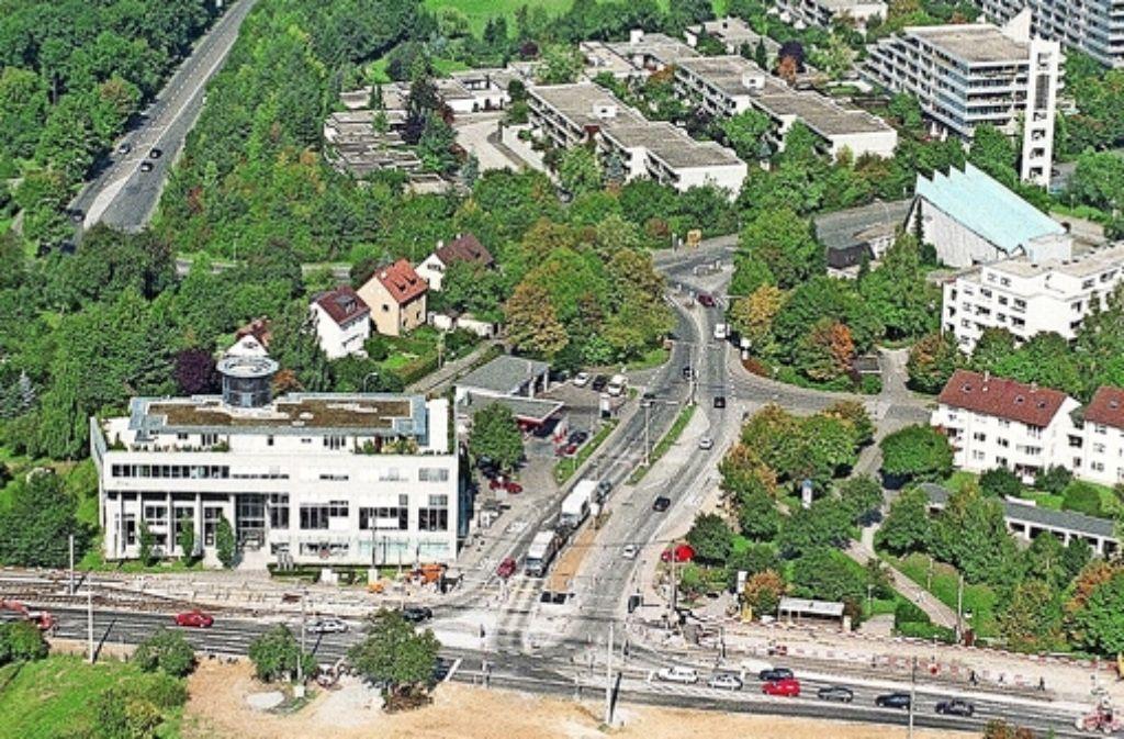 Die jüngste Variante der Filderauffahrt sieht vor, dass die neue Straße an der Kreuzung an der Bockelstraße in einen Tunnel und nach Kemnat führt. Foto: Archiv Krauffmann