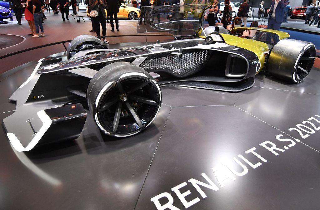 Renault R.S. 2027 Vision Foto: AP