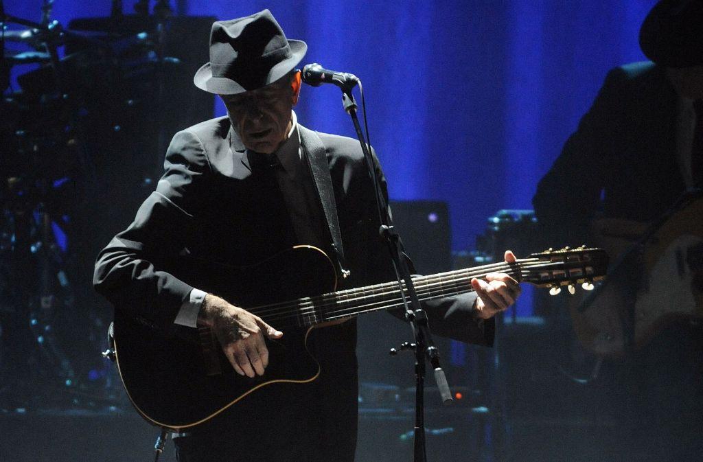Leonard Cohen ist tot. In der Bildergalerie blicken wir auf sein Leben und Wirken. Foto: AP