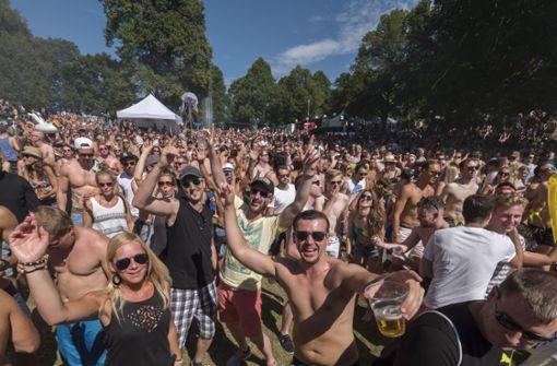 Wet-Festival macht weiter