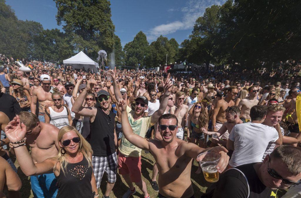 Auch in diesem Jahr soll das Wet-Festival wieder zahlreiche Besucher in Partylaune anlocken. Foto: factum/Weise
