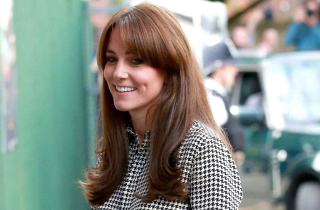 Herzogin Kate ist zurück aus der Babypause – mit brandneuer Frisur. Foto: dpa