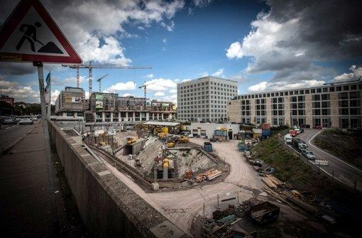 Baufeld im Europaviertel vor Verkauf