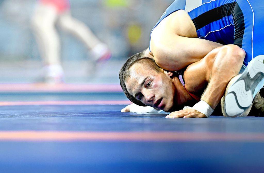Der Doppelweltmeister Frank Stäbler muss derzeit um gute Trainingsbedingungen kämpfen. Foto: dpa