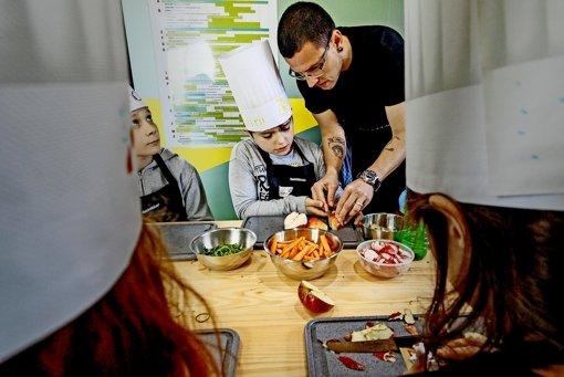 Kochkurs für Schulkinder