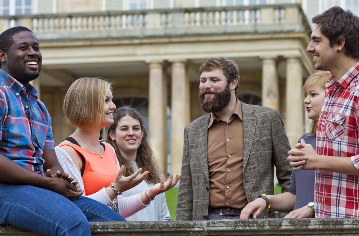 Die Uni Hohenheim ist bei Studierenden beliebt. Foto: Uni Hohenheim/Boris Lehner