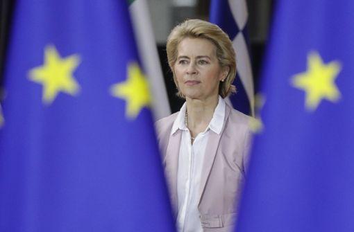 """Neue EU-Kommissionschefin: """"Lasst uns an die Arbeit gehen"""""""