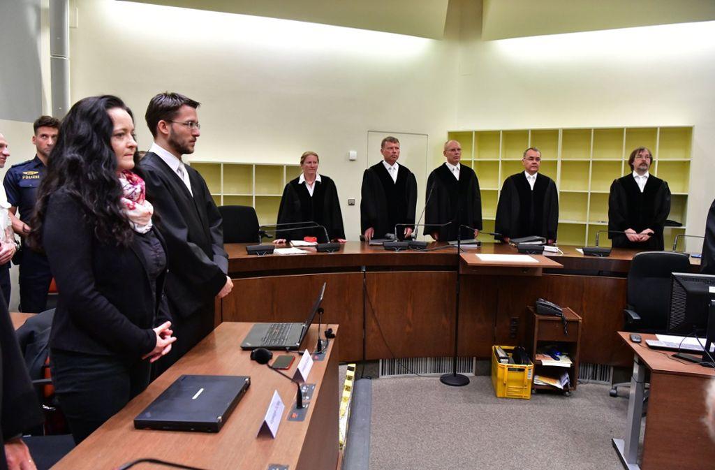 Die Richter haben ihr Urteil im NSU-Prozess gefällt. Foto: dpa