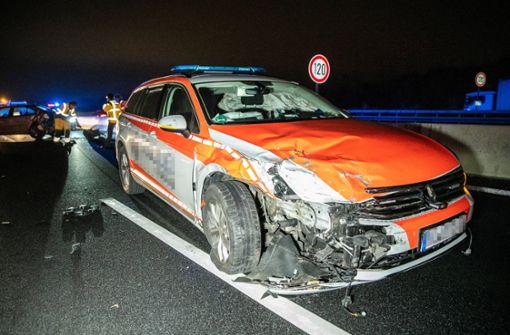 Schwerer Unfall bei Organtransport – Polizei muss einspringen
