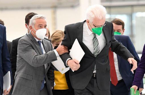 Grüne stimmen Koalitionsvertrag mit CDU zu