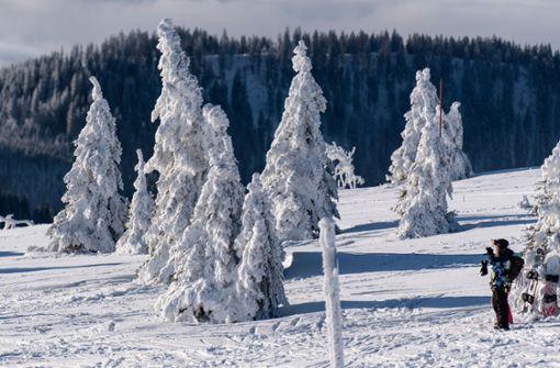 Skifahren nur auf wenigen Pisten im Schwarzwald möglich