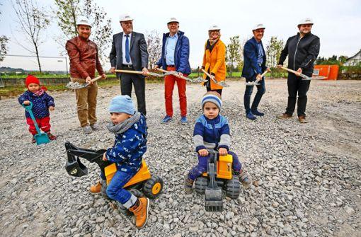 Startschuss für 75 neue Kindergartenplätze