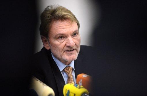 Bahn-Vorstand Volker Kefer hat die Parlamentarier  über die Kostensteigerungen bei Stuttgart 21 informiert. Foto: dpa