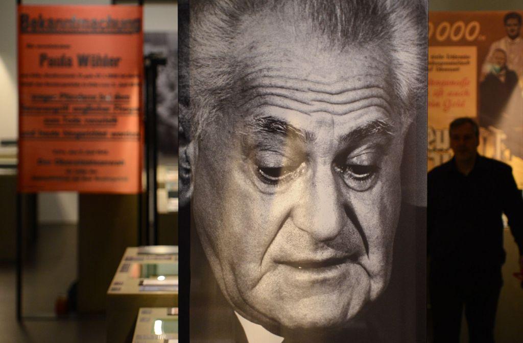 """"""" 50 Jahre nach seinem Tod wird Fritz Bauers Arbeit gewürdigt. Foto: dpa"""