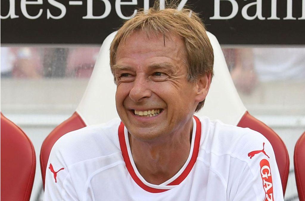 Jürgen Klinsmann trug von 1984 bis 1989 das Trikot des VfB Stuttgart. Foto: dpa