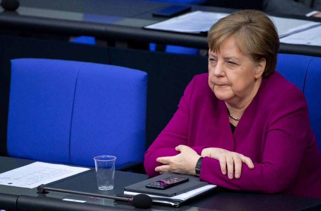 Angela Merkel will weitere Maßnahmen in der Corona-Krise verkünden. Foto: dpa