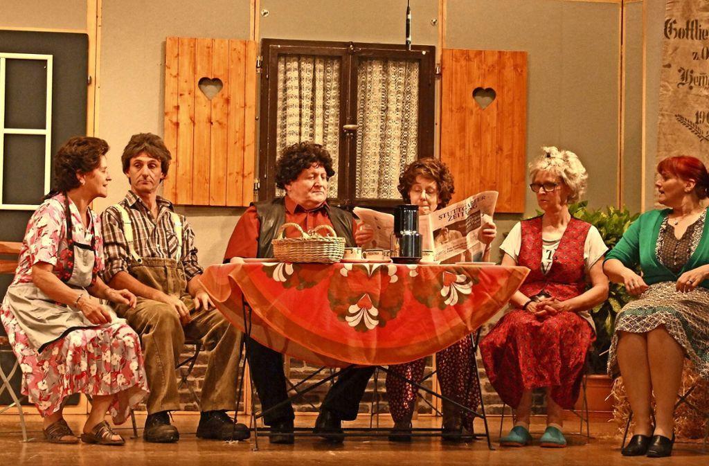 Die Theatertruppe spielt jedes Jahr mehrmals eine schwäbische Komödie. Foto: GSV/Kuaschwänz
