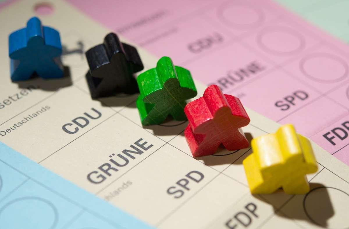 Alle startklar zur Landtagswahl 2021? Das Coronavirus verhindert dies. Foto: picture alliance / Bernd/ Weissbrod