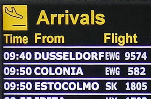 Vorläufig nur 39 Flugziele in 13 Ländern