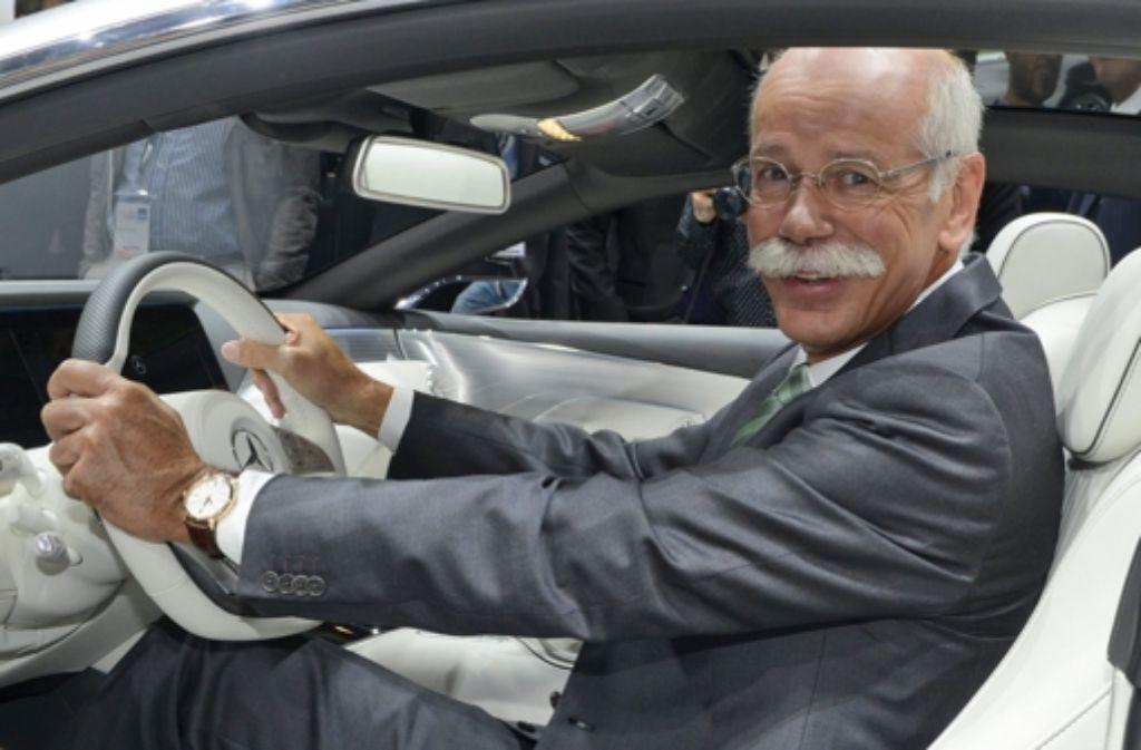 Die Berliner Staatsanwaltschaft bestätigte, dass sie gegen ein Daimler-Vorstandsmitglied ermittelt. Ob es sich dabei um Dieter Zetsche handelt, wollte ein Sprecher nicht sagen. Foto: EPA