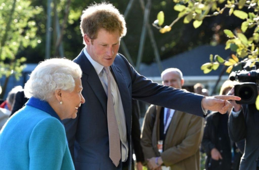 Prinz Harry und seine Großmutter, Queen Elizabeth II. Foto: Getty Images Europe