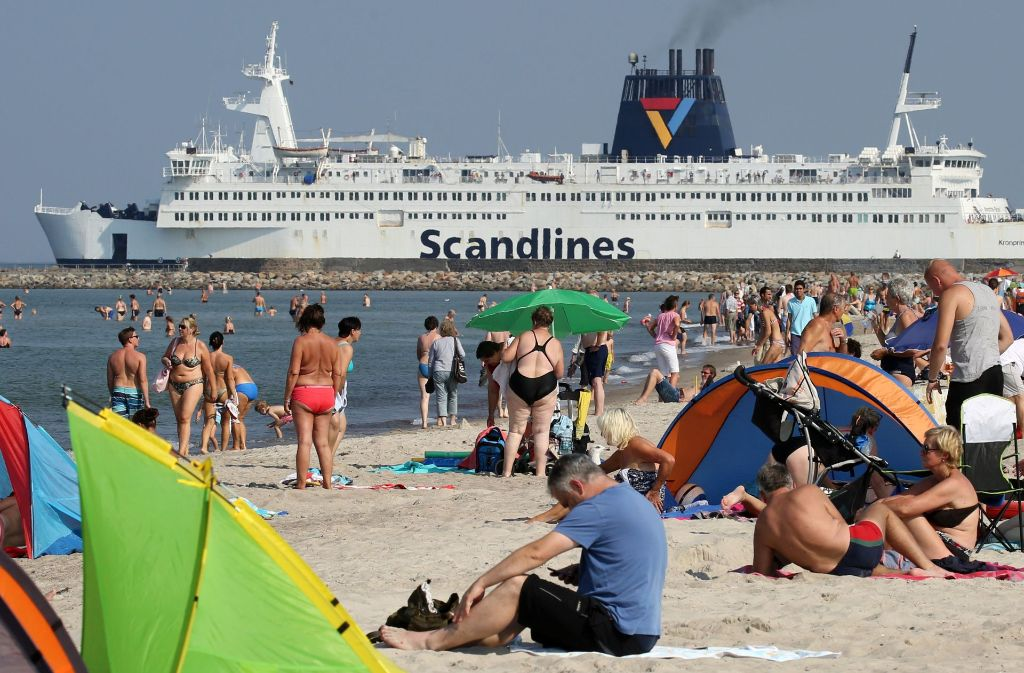 Die Fähren des Scandlines-Unternehmens müssen evakuiert werden. Foto: dpa-Zentralbild