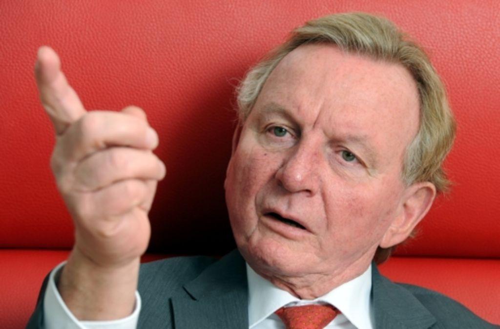 """Claus Schmiedel spricht von """"Schaukämpfen"""". Foto: dpa"""