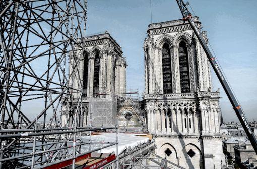 Notre-Dame ist noch nicht gerettet