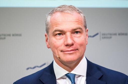 Staatsanwaltschaft ermittelt gegen Carsten Kengeter
