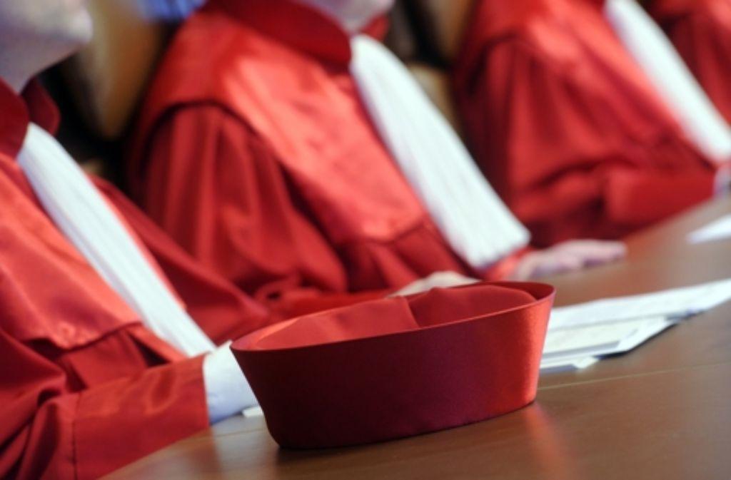 Die Richter beim Bundesverfassungsgericht versuchen, sich mit baulichen und technischen Maßnahmen gegen Abhörmaßnahmen zu schützen. Foto: dpa