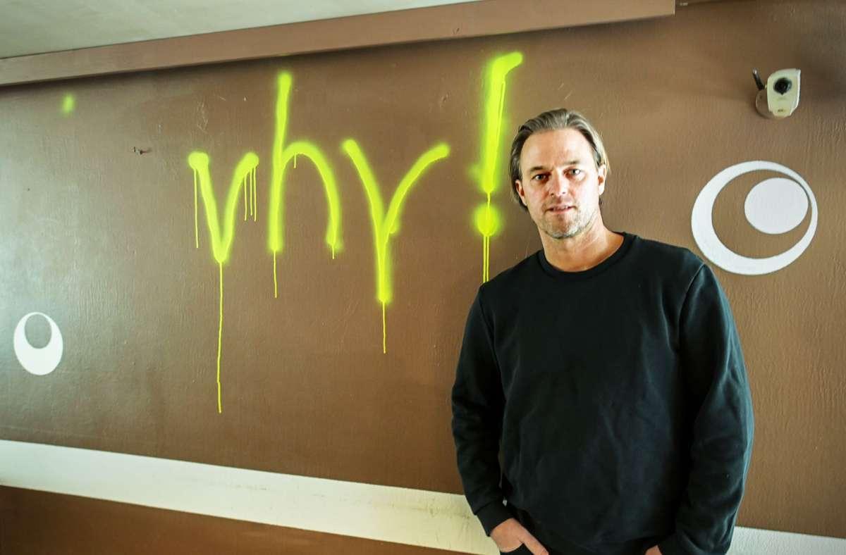 Der frühere Nationaltorwart Timo Hildebrand  baut die Marke vhy! auf, die für veganen Genuss steht. Foto: Lichtgut/Piechowski
