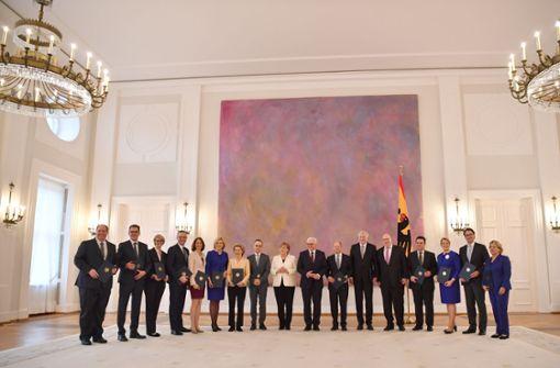 Das sind Merkels Minister im neuen Kabinett
